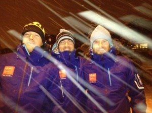 The TDC Tean look forward to skiing with SCoM