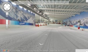 Inside Hemel Snow Centre