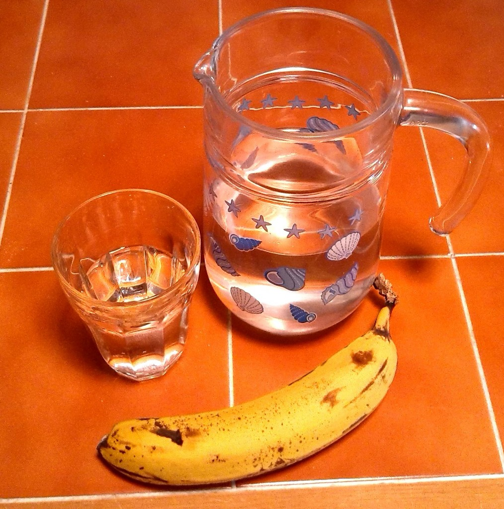 Water and Banana