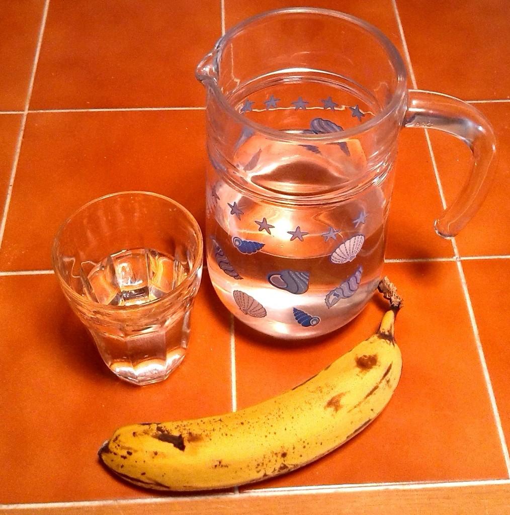 Water and Banana