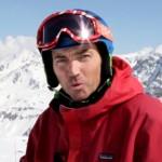 intergalactic ski super hero. Gold on the inside.