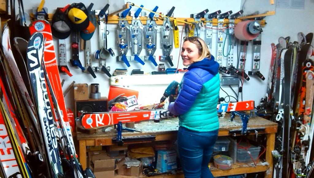 Ski Service Work Shop