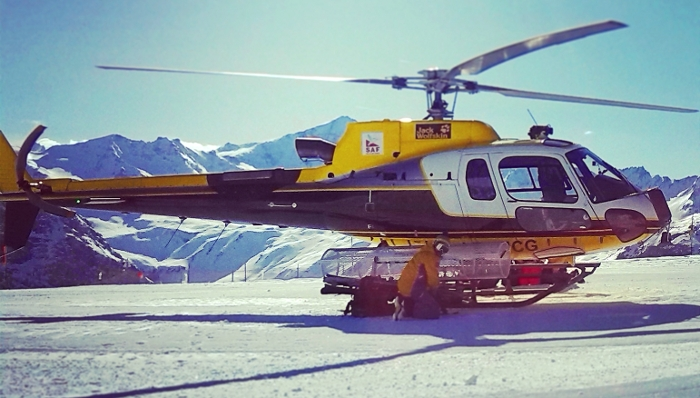 HeliSki in Val d'Isere, France