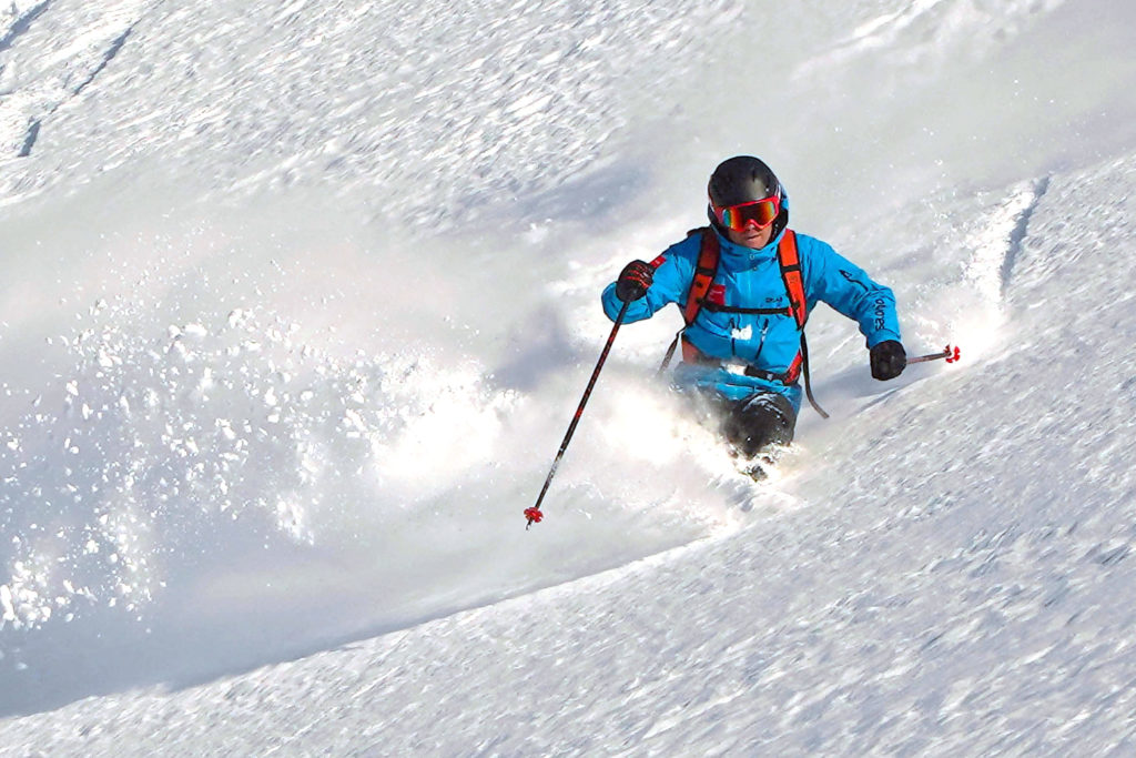 powder ski camps with tdcski coaches
