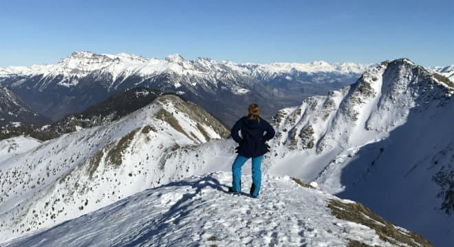 First ski trip from USA to the French Alps