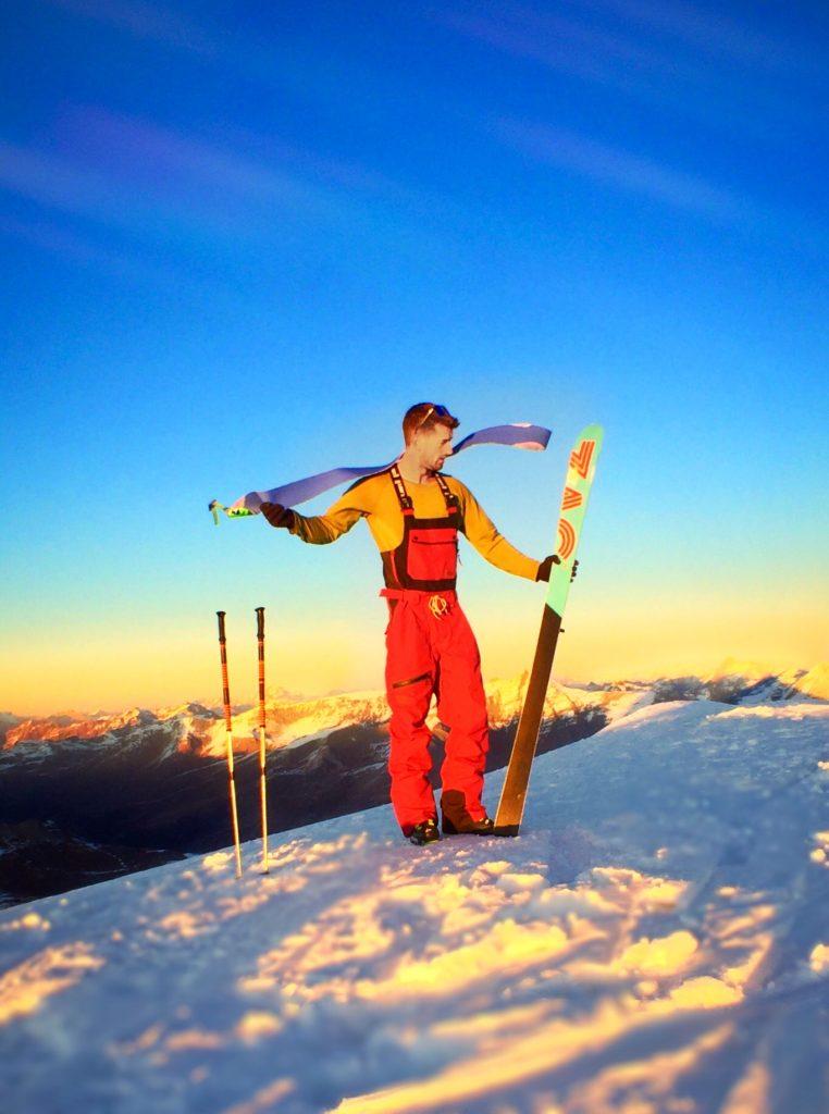 Taking Skins Off - Ski Touring